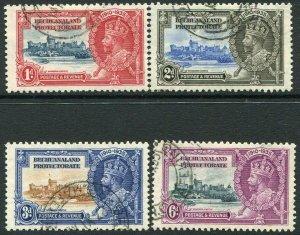 BECHUANALAND-1935 Silver Jubilee Set Sg 111-114 FINE USED V32954