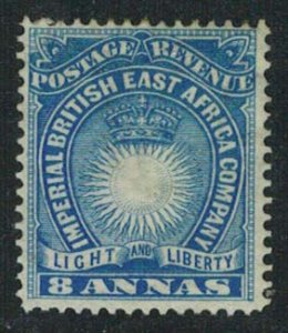 British East Africa Scott 23 Unused hinged.