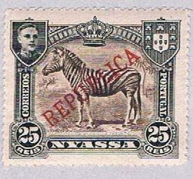 Nyassa 55 MLH Zebra 1911 (BP3787)