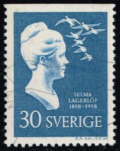 Sweden #536 Selma Lagerlof; Used (0.60)