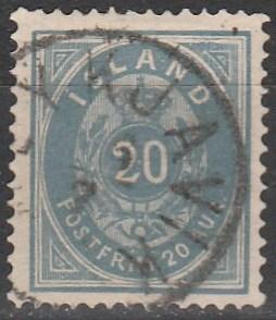 Iceland #17 F-VF Used CV $67.50