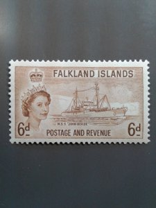 Falkland Islands 125 VF MNH. Scott $ 9.00