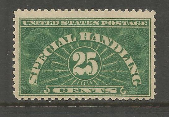 UNITED STATES   QE4   MNH,   SPECIAL HANDLING STAMPS