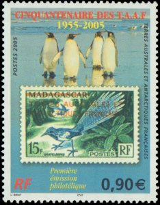 French Southern & Antarctic Territory #360, Complete Set(3), 2005, Birds, Sta...