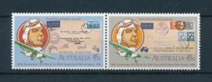 [98044] Australia 1984 Aviation Aircraft Stamps on Stamps MNH