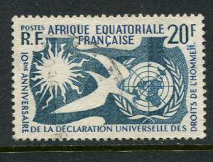 French Equatorial Africa #202 Used