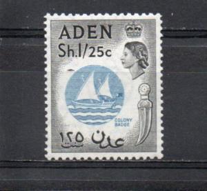 Aden 56 MNH