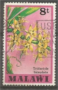 MALAWI 1979 used 8t  Orchids Scott 331