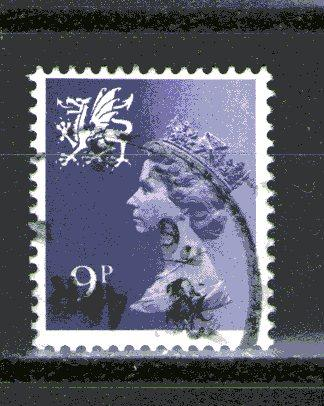 Great Britain - Wales WMMH12 used