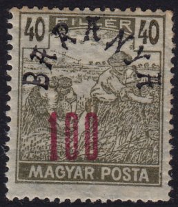 Hungary - 1919 - Scott #8N10 - MNH - Baranya overprint