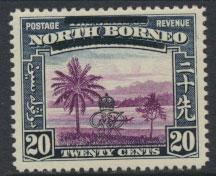 North Borneo  SG 344 SC# 232 MNH    OPT GR Crown - See scan