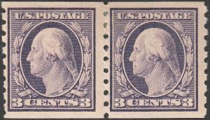 U.S. 394 F+VF MH PAIR (32718)