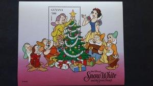 Disney - Guyana 1996. - Christmas ** MNH Block