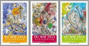 Scott #2416-8 Ski Championships MNH