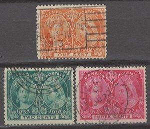 COLLECTION LOT # 3134 CANADA #51-3 1897 CV+$25