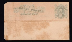 Argentina Stamp 4C STAMPED POSTAL CARD UNUSED