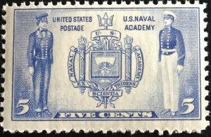 US #794 MNH Single Navy SCV $.75 L16