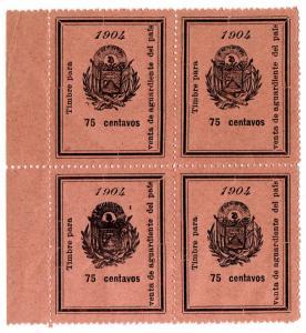 (I.B) El Salvador Revenue : Brandy Duty 75c