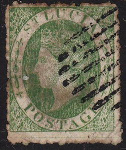 ST LUCIA  An old forgery of a classic stamp................................69871
