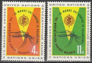 United Nations #102-3  MNH (K1569)