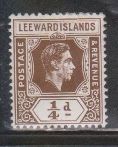 LEEWARD ISLANDS - Scott # 103 MH - KGVI