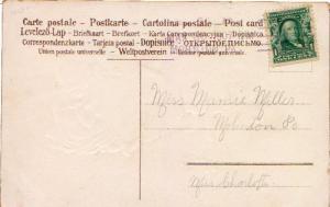 United States Pennsylvania Mohnton R.F.D. 1 1907 sl  Type 2P  PC.