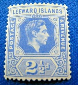LEEWARD ISLANDS 1938  -  SCOTT # 108a   -   MLH      (HL1)