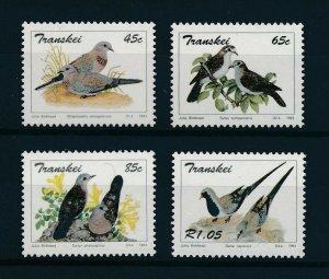 [102741] Transkei 1993 Birds vögel oiseaux doves  MNH