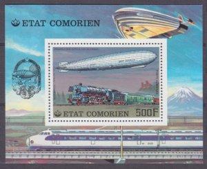 1977 Comoro Islands 345/B83 Zeppelin 6,00 €
