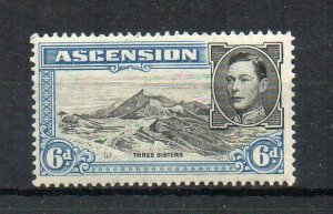 Ascension 1938-53 6d Three Sisters MNH