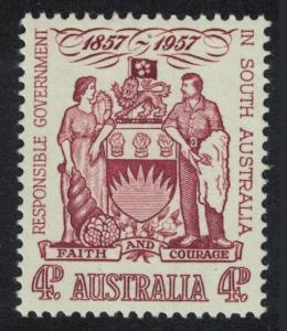 Australia Centenary of Responsible Government in South Australia 1957 MNH