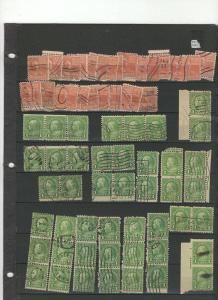 U.S Vintage stock stamps