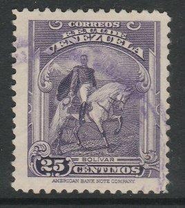 Venezuela 1947-48 25c used South America A4P53F43