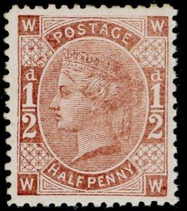 ½d brown, LH MINT. 1880 PERKINS BACON TENDER ESSAY.