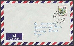 FIJI 1971 5c rate airmail cover to Tonga ex LABASA..........................R558