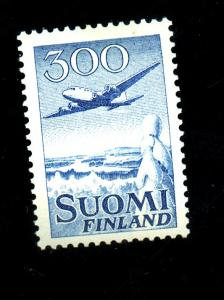 Finland #C4 MINT VF OG LH Cat $35