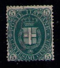 Italy Sc 52 Used Arms Of Savoy F-VF