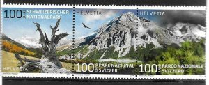 2014    SWITZERLAND  -  SG.  2009 / 2011  -  SWISS NATIONAL PARK   -  MNH