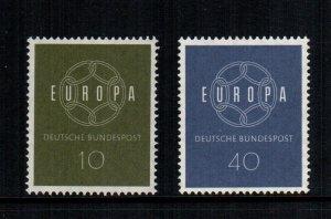 Germany  805 - 806  MNH cat $  1.55