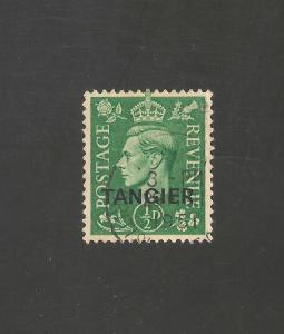 Morocco Agencies #521 (SG #251) VF Used - 1944 1/2p KGVI