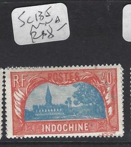 INDOCHINA FRENCH (P2612B)  SC 135    MNH