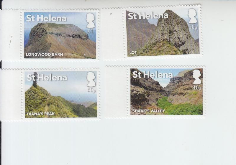 2017 St Helena Tourism - Post Box Walks (4) (Scott NA) MNH