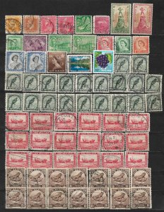 COLLECTION LOT OF 72 NEW ZEALAND 1915+ STAMPS CLEARANCE UNCHECKED