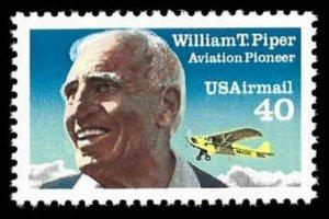 C132 40c William Piper, MNH, (1)