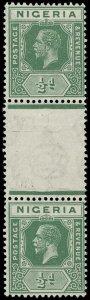 Nigeria Scott 18 Variety Gibbons 15c Mint Stamp