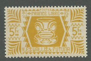 Wallis & Futuna Scott Catalog Number 138 Issued in 1944