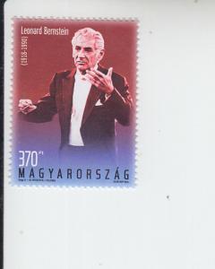 2018 Hungary Leonard Bernstein (Scott 4460) MNH