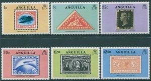 Anguilla 1979 SG358-363 Sir Rowland Hill set MNH