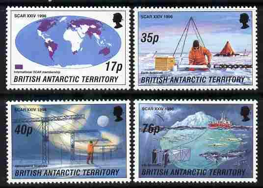 British Antarctic Territory 1996 Scientific Committee on ...