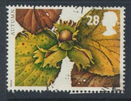 Great Britain SG 1781  Used  - Four Seasons Autumn